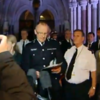 Video: Police shouted down after verdict in London riots case