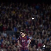 Messi wastes no time, scoring twice on return from injury