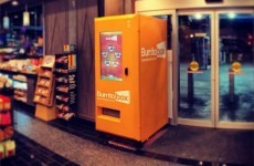 The world's first burrito vending machine has arrived