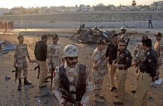 Teenager dies trying to stop suicide bomber at his school in Pakistan