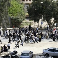 Syrian forces fire on mourners during funeral processions for anti-government protesters