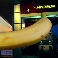 Man ram-raids petrol station, then steals only a single banana