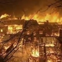 Fire destroys 1,000-year-old Tibetan town