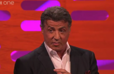 Sylvester Stallone punched Graham Norton on his show last night