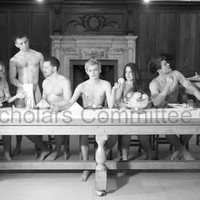 Jack Gleeson is in the nip in the Trinity naked calendar