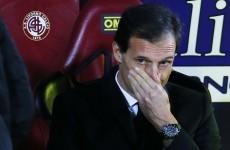 AC Milan sack coach Massimiliano Allegri