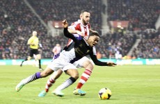 Raheem Sterling 'right' to go down to win penalty at Stoke - Neville