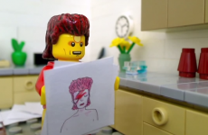 Lego sketch sees David Bowie living 'The Good Life on Mars'
