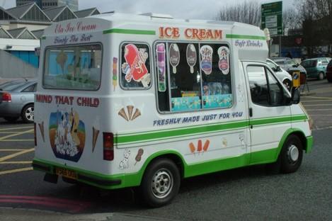 File image of a less heroic ice-cream van