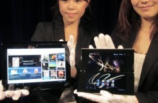 In photos: Sony unveils first tablet devices