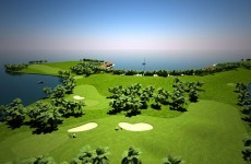 Check out the designs for the world's first floating golf course