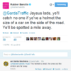 This Garda Traffic Twitter exchange with the Rubberbandits is outstandingly Irish