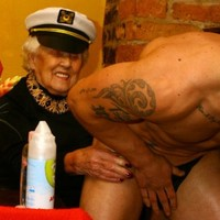 100-year-old woman celebrates birthday by hiring a stripper to give her a lap dance