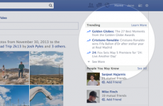 Facebook brings in trending topics feature for news stories