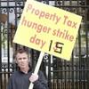 Former Dáil hunger striker ends sit-in at Dublin bank