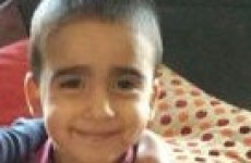 Volunteers search through the night for missing three-year-old Mikaeel