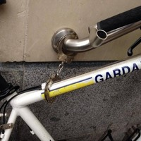 Are the gardaí so strapped for cash that they can't afford bike locks?
