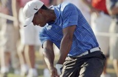 Here's how Tiger Woods hurt his knee at the Masters