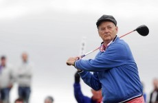"Bill Murray says Ireland is the ""most beautiful country to play golf in"""