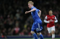 De Bruyne leaves Chelsea for Wolfsburg in reported €20million deal
