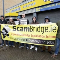 Protests at some Advance Pitstop branches over JobBridge internships