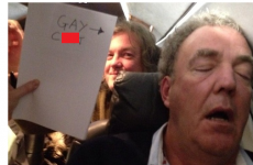 """Jeremy Clarkson apologises after posting """"gay c*nt"""" photo"""