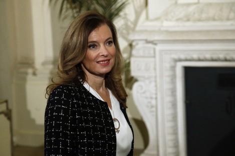 Valerie Trierweiler, France's de-facto First Lady