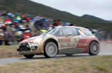 Tyrone's Kris Meeke finishes in third spot at Monte Carlo Rally