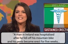 Dublin man with seven week erection makes it onto Saturday Night Live