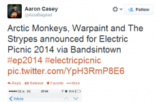 It looks like those Electric Picnic lineup 'announcements' are bogus