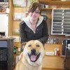 Pic: This rescue dog is unbelievably happy going to his new home