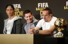 Ribery blames 'politics' for missing out on the Ballon d'Or