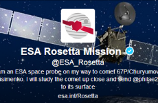 The Rosetta spacecraft is tweeting in Irish!