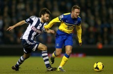 McGeady makes debut but Coleman injured as Everton draw with Baggies