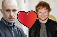 Ed Sheeran is a big fan of Love/Hate