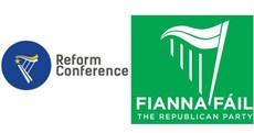 Creighton insists RA conference logo is 'hardly original' amid Fianna Fáil comparisons