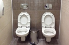 What's wrong with this picture of a toilet cubicle in Sochi?