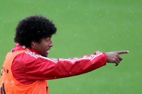 New man; Bayern Munich defender Dante.