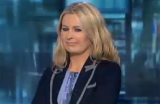 Sharon Ní Bheoláin was not impressed by some dancers on the news last night