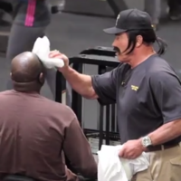 Arnold Schwarzenegger dresses up as gym manager and pranks gym users