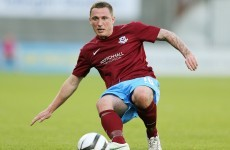 Gary O'Neill scores on Drogheda return after battle with cancer