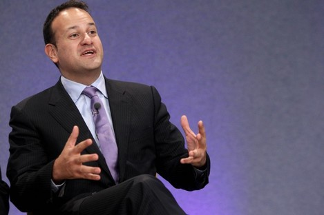 Minister for Sport Leo Varadkar was in Armagh today.