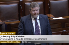 Reilly 'acknowledges discomfort and distress' of patients on trolleys
