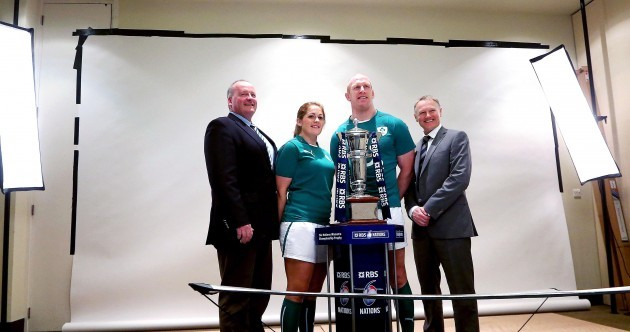 In pictures: Captains and coaches do their duty at the 6 Nations launch