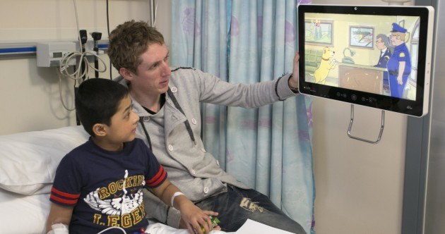 Unveiled: New high-tech ward at Temple Street Children's Hospital