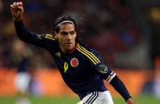 Falcao facing World Cup heartbreak as Colombia striker suffers serious injury