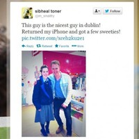 Dublin's 'Prince Charming' reunites schoolgirl with lost phone