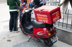 McDonalds distances itself from Facebook-based Dublin delivery service