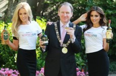 Mayor to fill the Mansion House with whiskey. Or something.