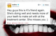 Tweet Sweeper: Ke$ha wants you to send her your teeth... seriously